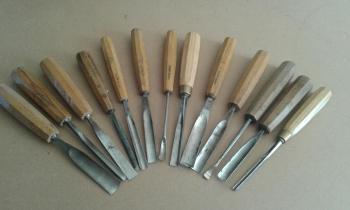 Outils de sculpteur sur bois