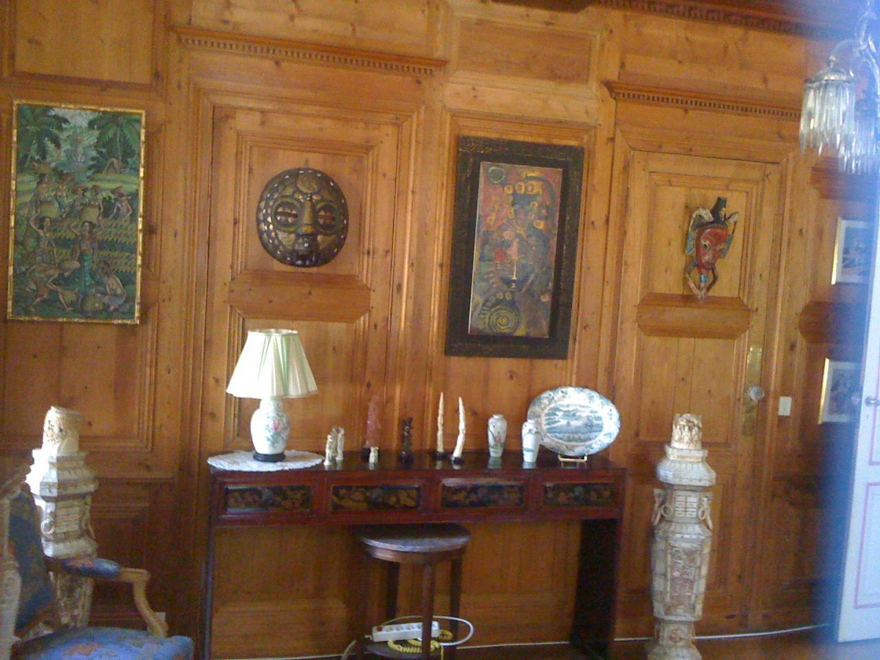 Boiserie ancienne réparée par l'atelier