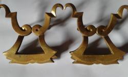 Poignées en bronze doré