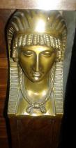 Cariatide en bronze