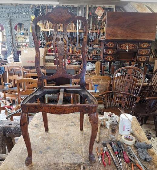 Chaise hollandaise atelier d hermand