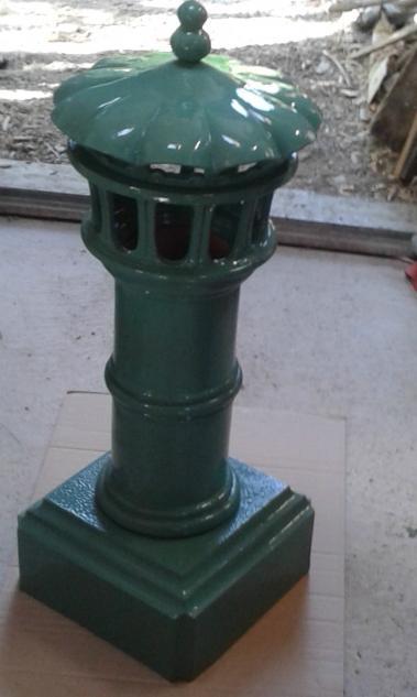 Lanterne de cheminée