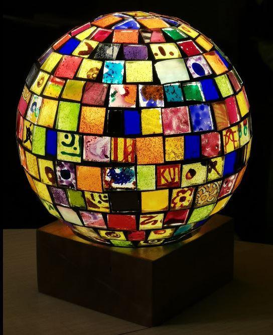 Miroir lampe coutaudier